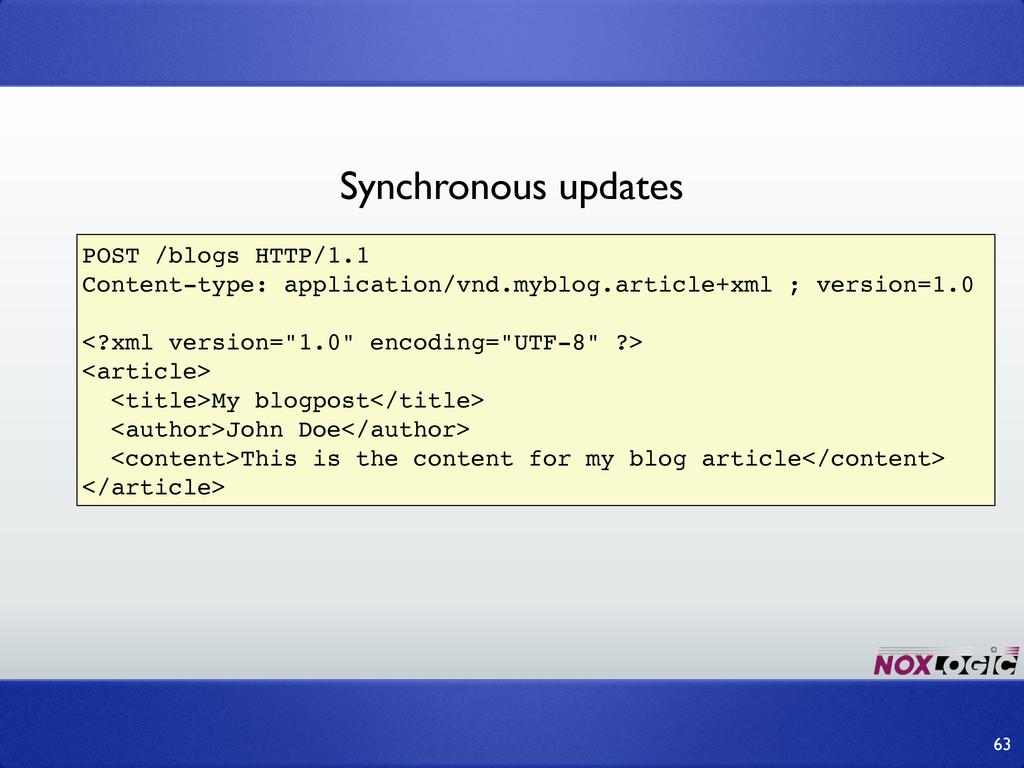 63 POST /blogs HTTP/1.1 Content-type: applicati...