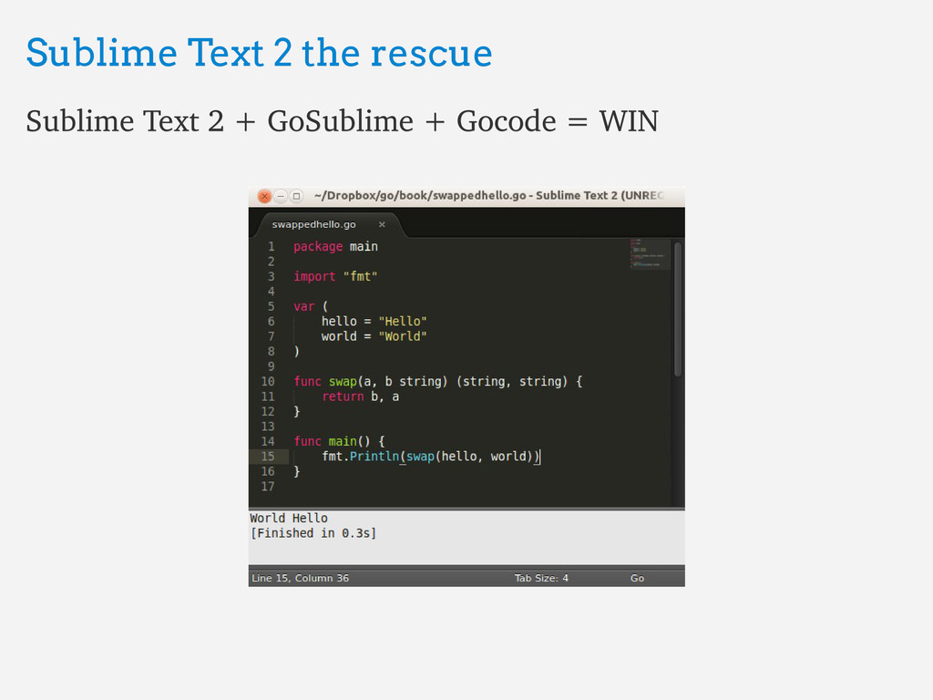 Sublime Text 2 the rescue Sublime Text 2 the re...