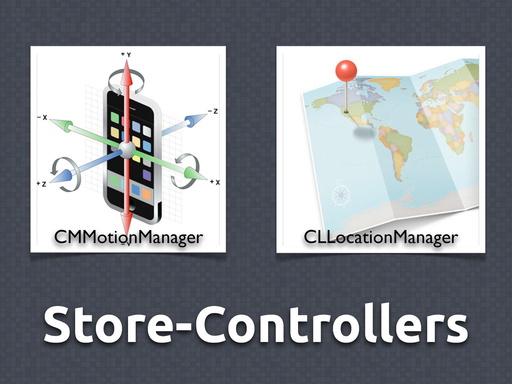 Store-Controllers CMMotionManager CLLocationMan...