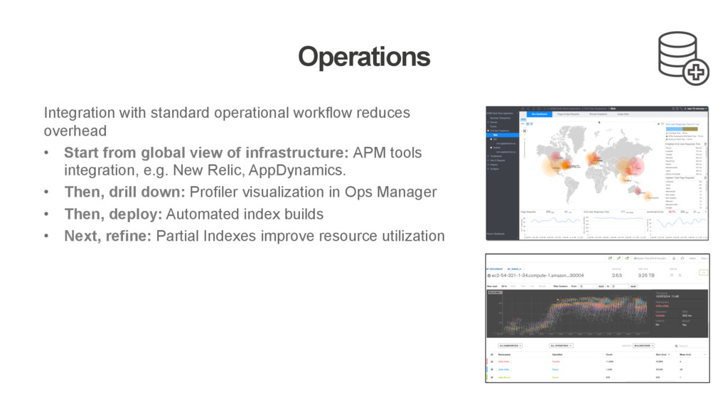 Operations Integration with standard operationa...