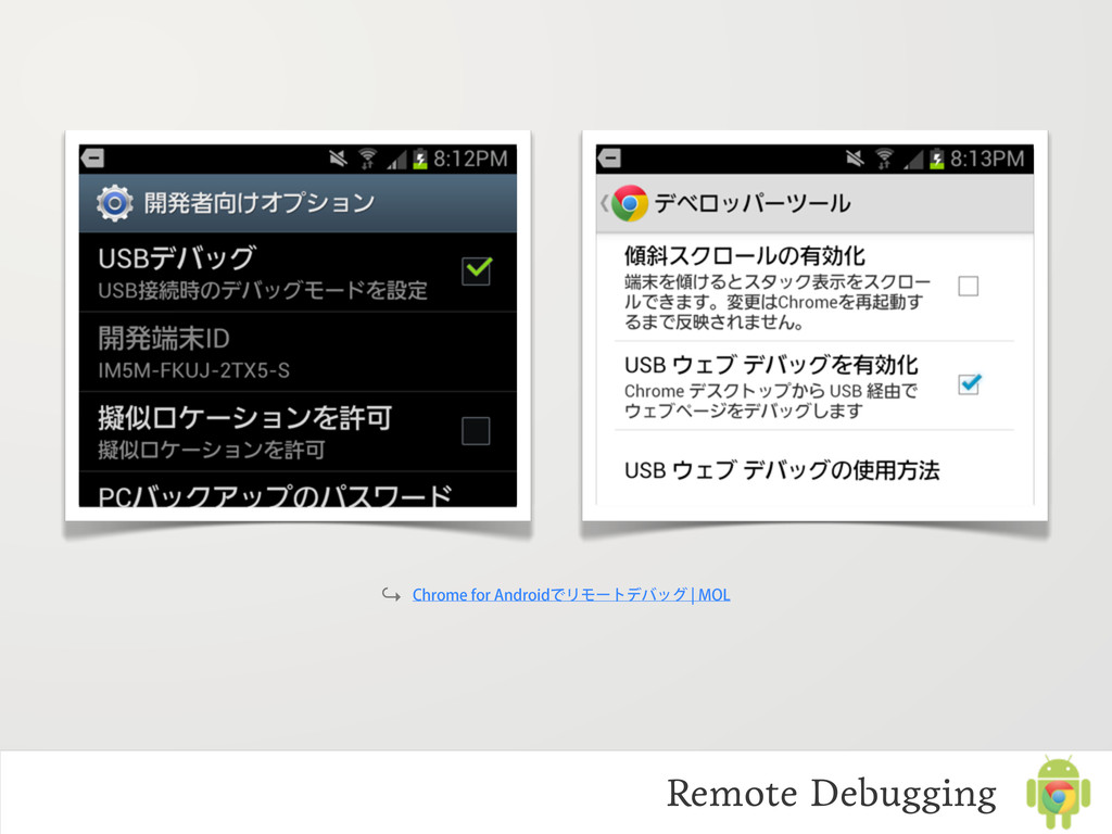 "Remote Debugging ↪ $ISPNFGPS""OESPJEͰϦϞʔτσόοά..."
