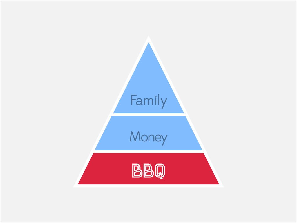 Family Money BBQ