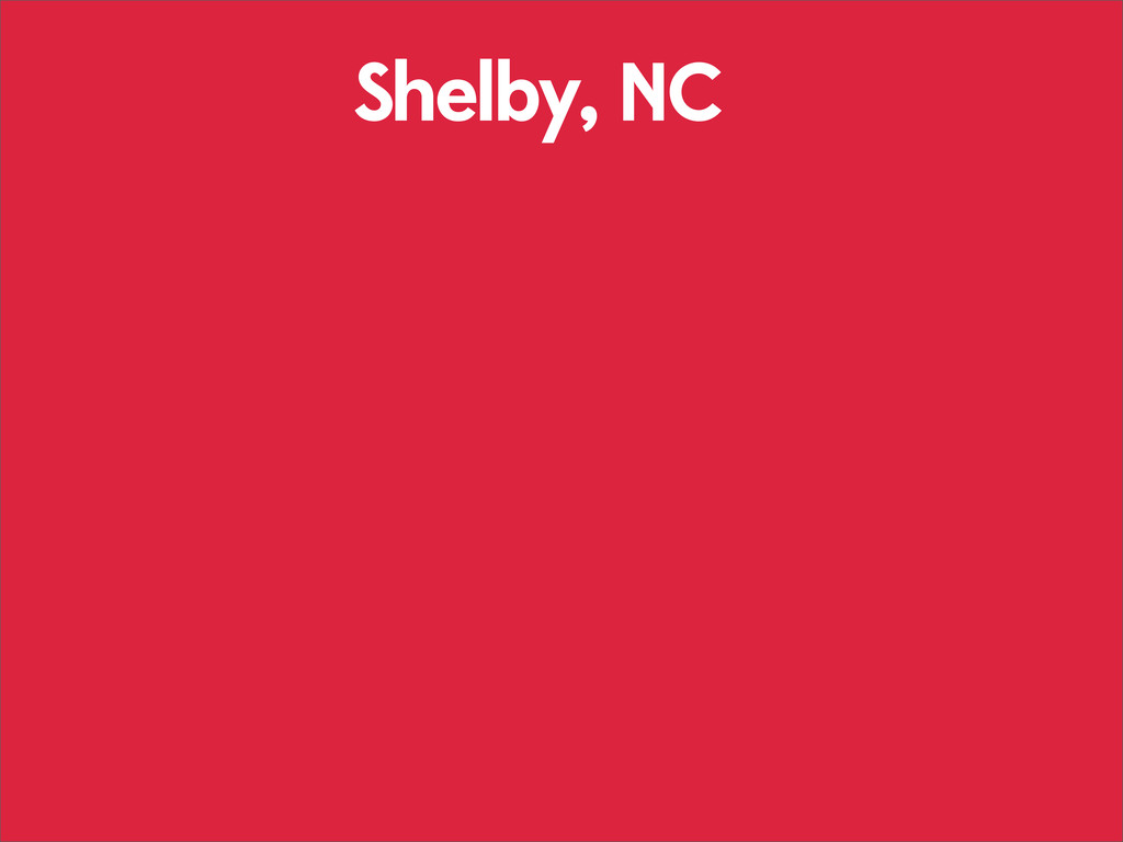 Shelby, NC