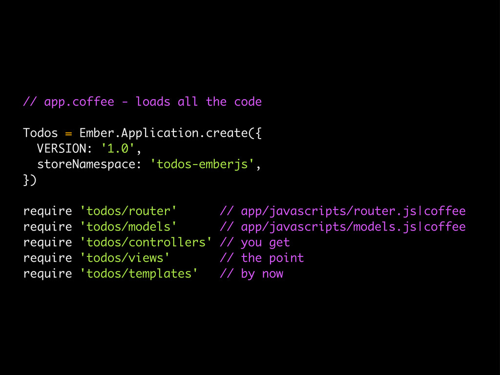 // app.coffee - loads all the code Todos = Embe...