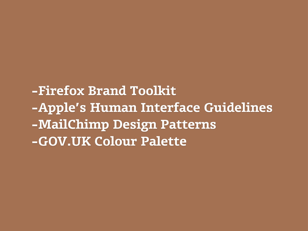 -Firefox Brand Toolkit -Apple's Human Interface...