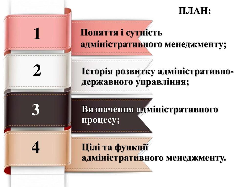 Поняття і сутність адміністративного менеджмент...