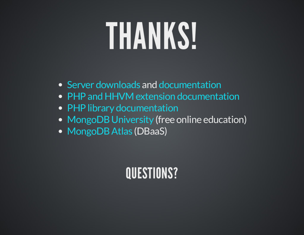 THANKS! THANKS! and (free online education) (DB...
