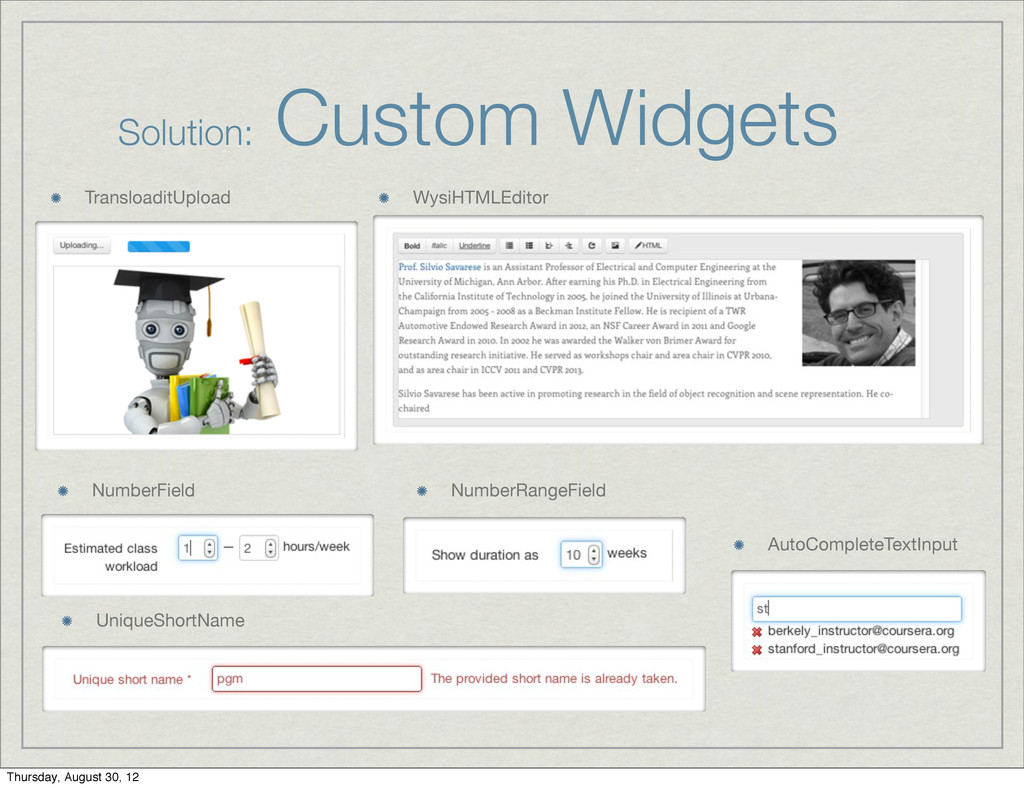 Solution: Custom Widgets WysiHTMLEditor Translo...