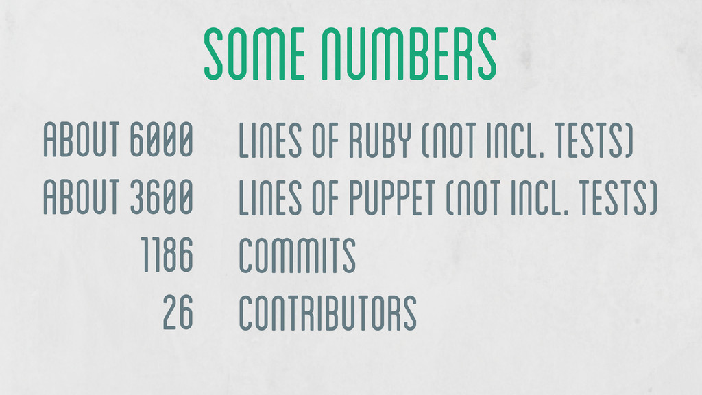 about 6000 about 3600 1186 26 lines of Ruby (no...