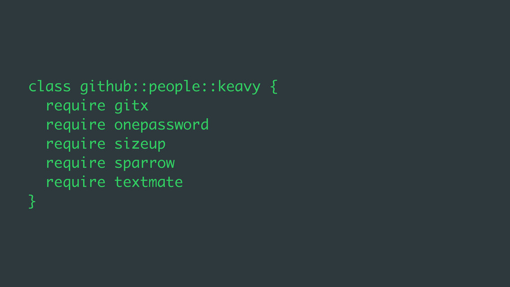class github::people::keavy { require gitx requ...