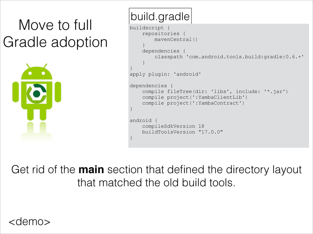 Move to full Gradle adoption build.gradle build...