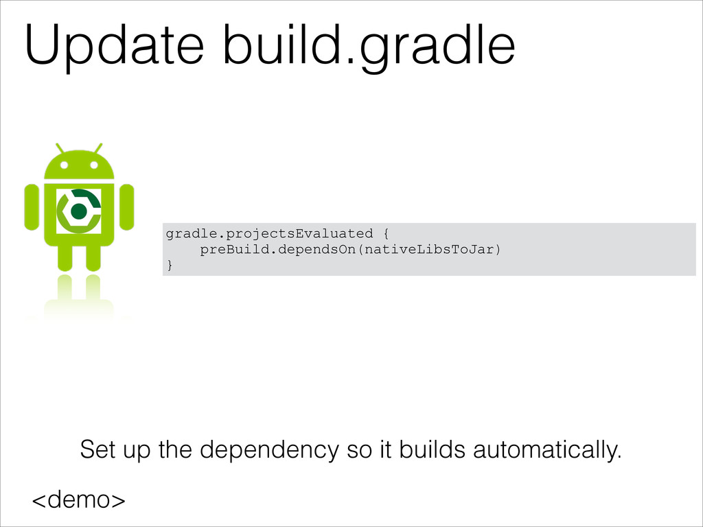 Update build.gradle <demo> gradle.projectsEvalu...