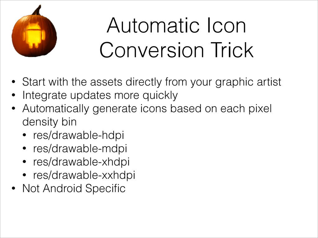 Automatic Icon Conversion Trick • Start with th...