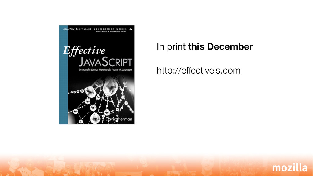 In print this December http://effectivejs.com