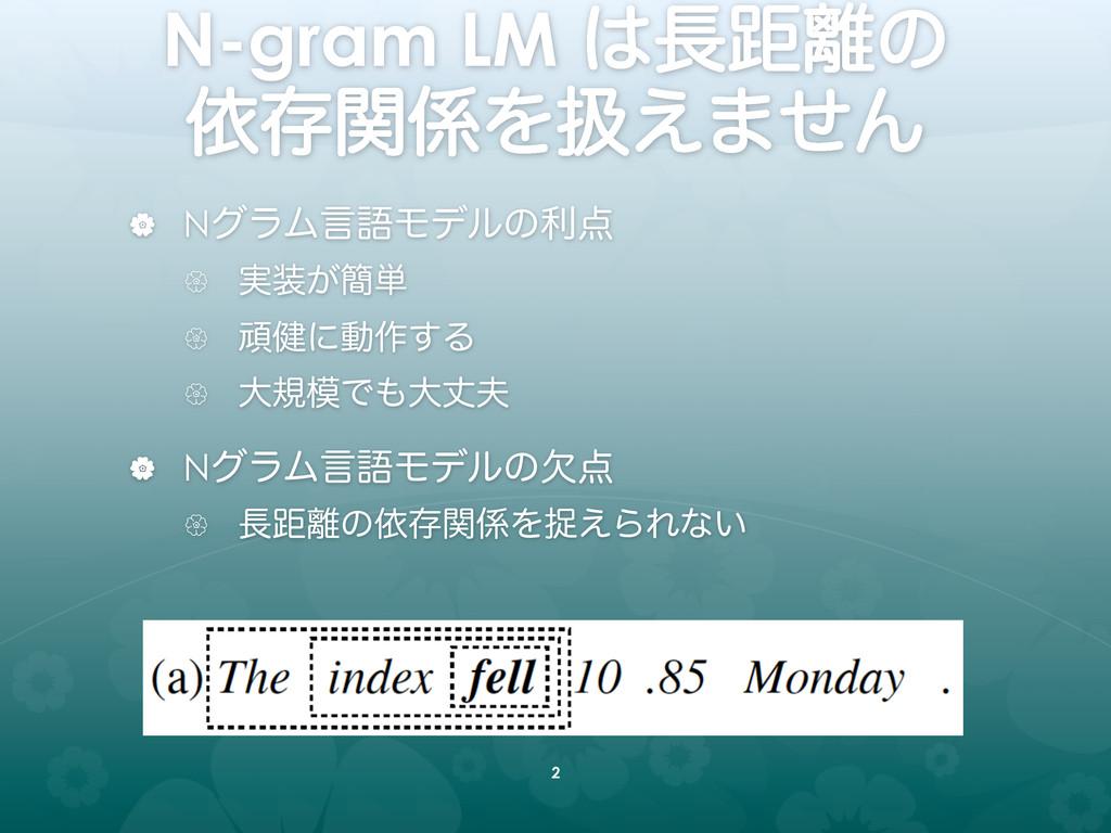 N-gram LM ڑͷ ґଘؔΛѻ͑·ͤΜ | NάϥϜݴޠϞσϧͷར ...