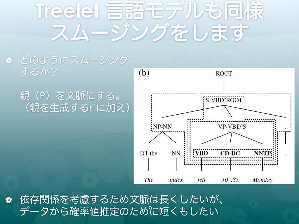 Treelet ݴޠϞσϧಉ༷ εϜʔδϯάΛ͠·͢ | ͲͷΑ͏ʹεϜʔδϯά ...