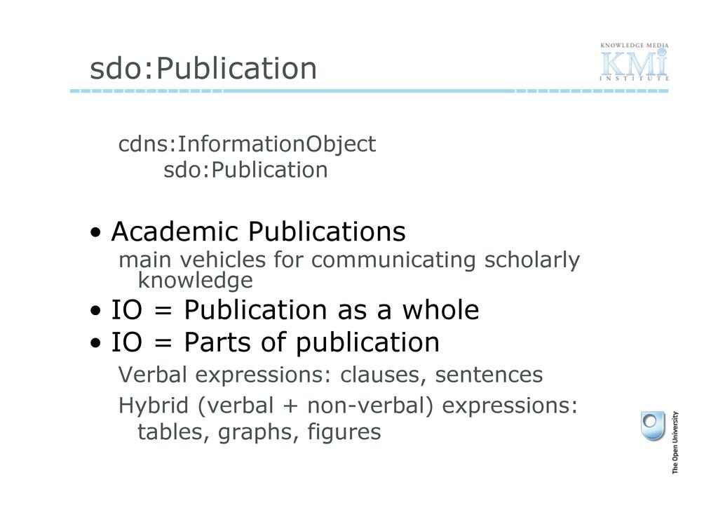 sdo:Publication cdns:InformationObject sdo:Publ...