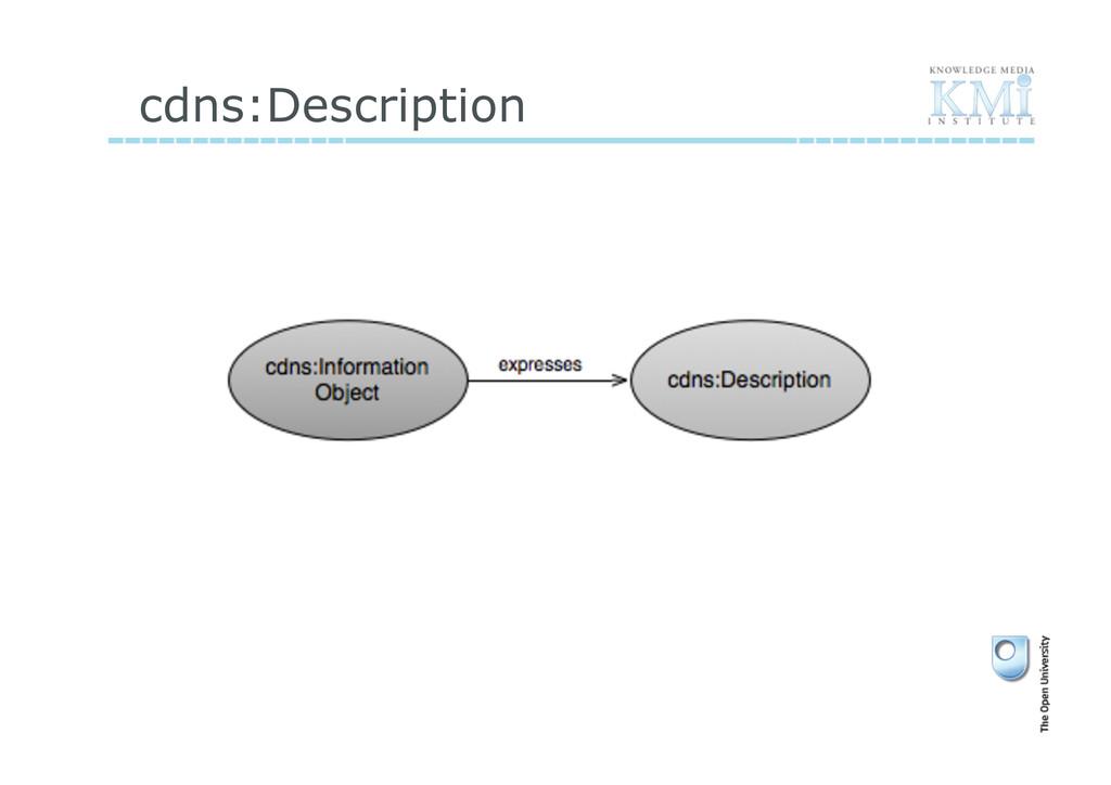 cdns:Description