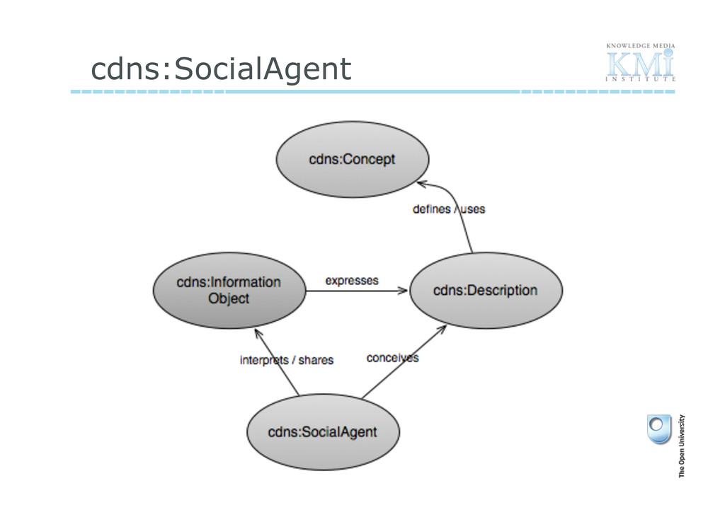 cdns:SocialAgent