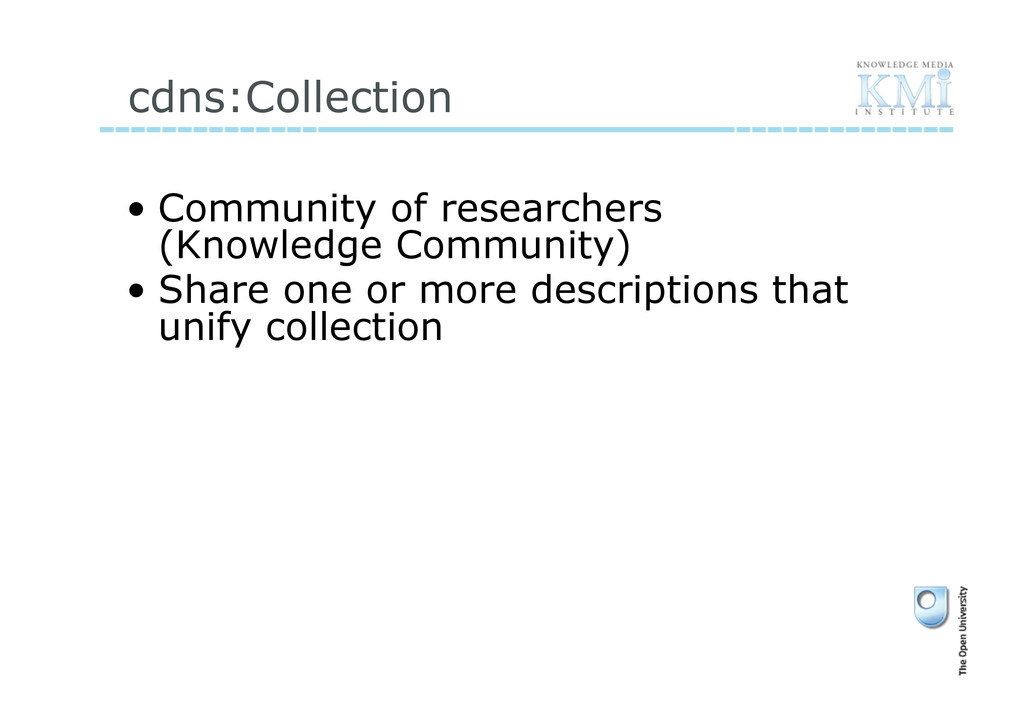 cdns:Collection • Community of researchers (Kn...