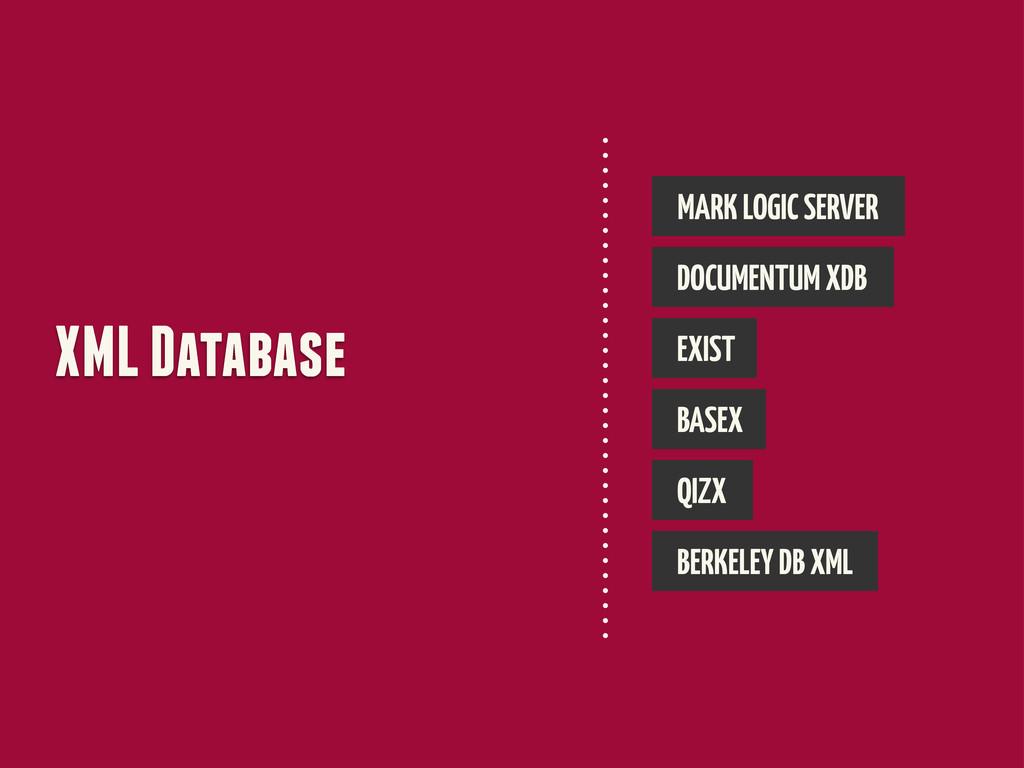 XML Database MARK LOGIC SERVER DOCUMENTUM XDB E...