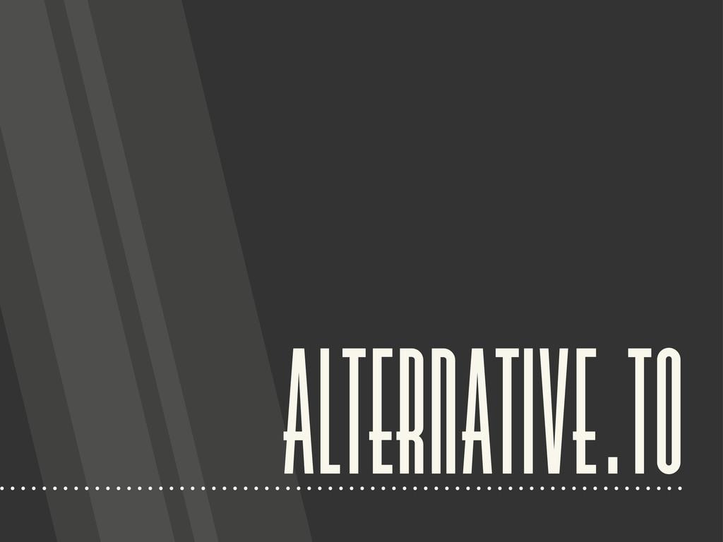 alternative.to