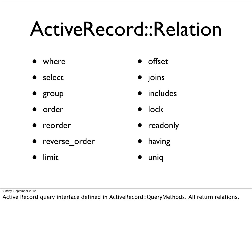 ActiveRecord::Relation • where • select • group...