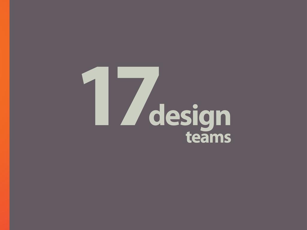 17design teams