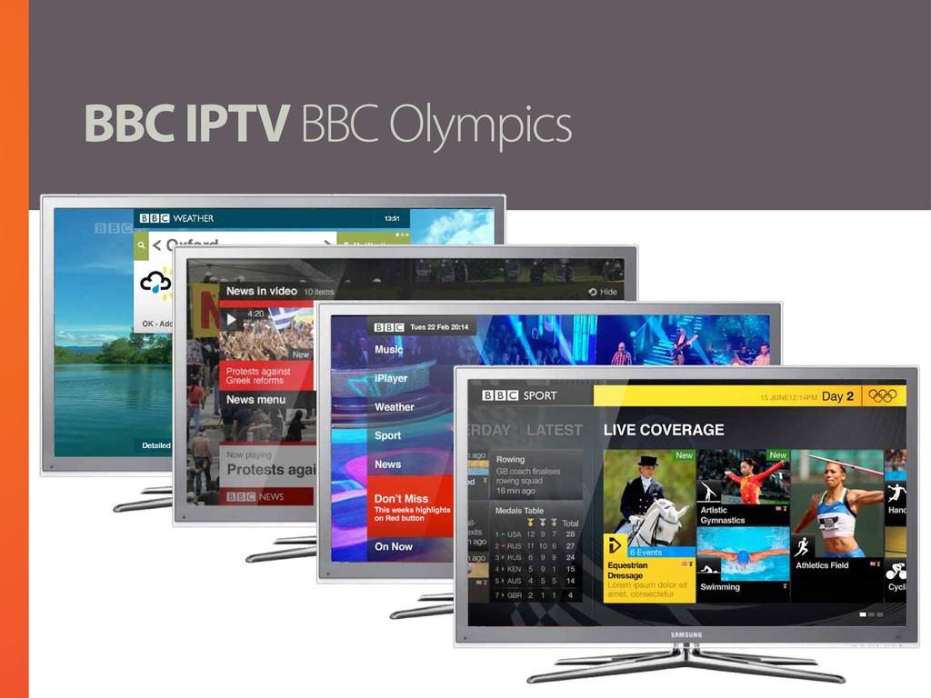 BBC IPTV BBC Olympics