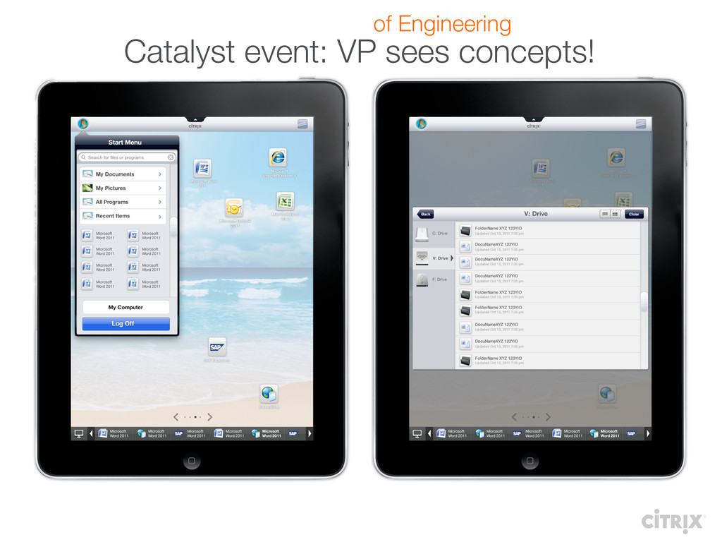 Catalyst event: VP sees concepts! of Engineeri...