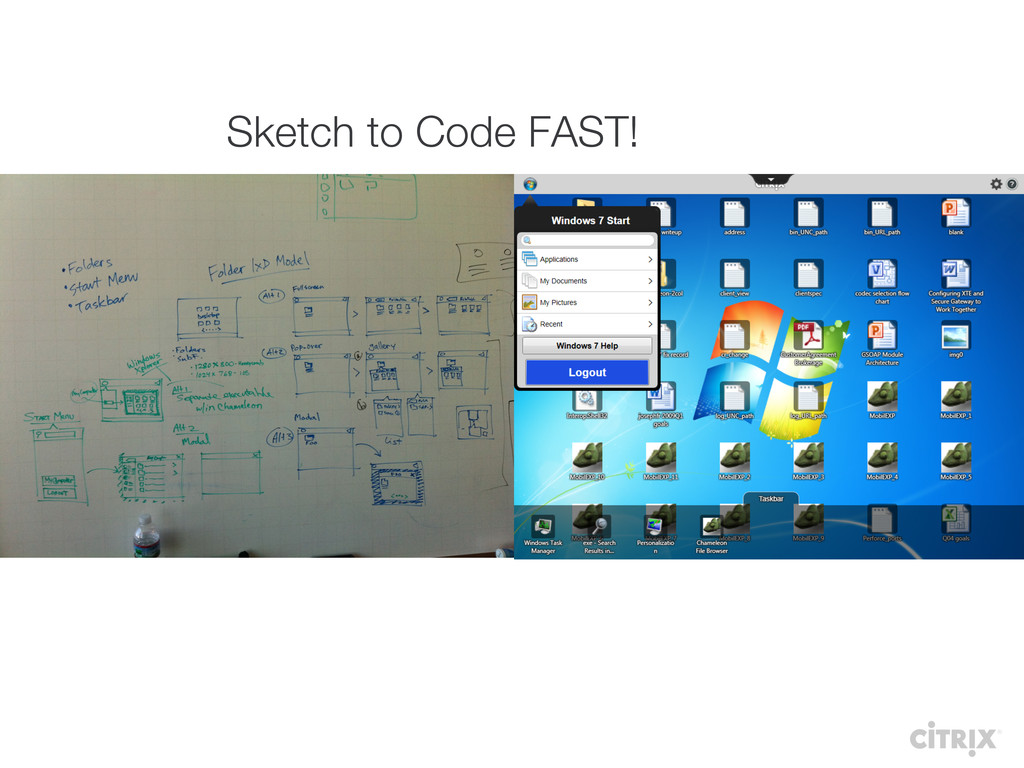 Sketch to Code FAST!