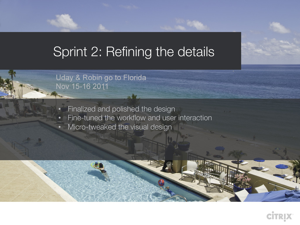 Uday & Robin go to Florida Nov 15-16 2011 • Fi...