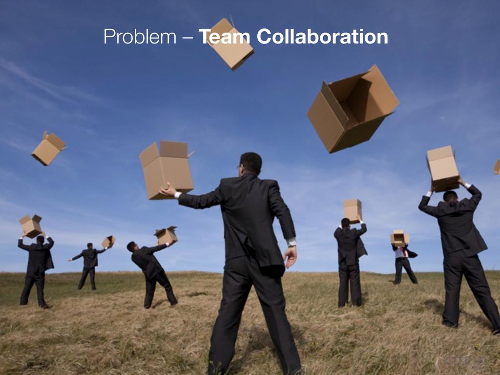 Problem – Team Collaboration