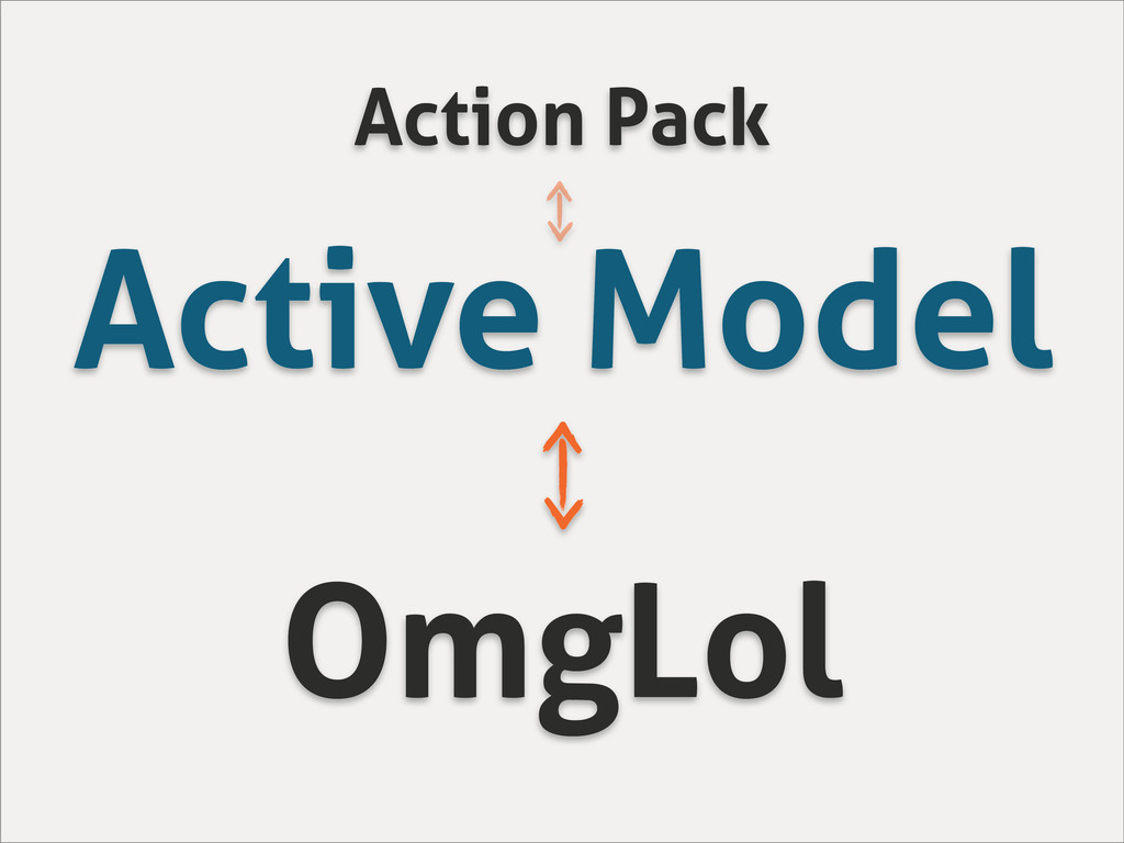 Active Model OmgLol Action Pack