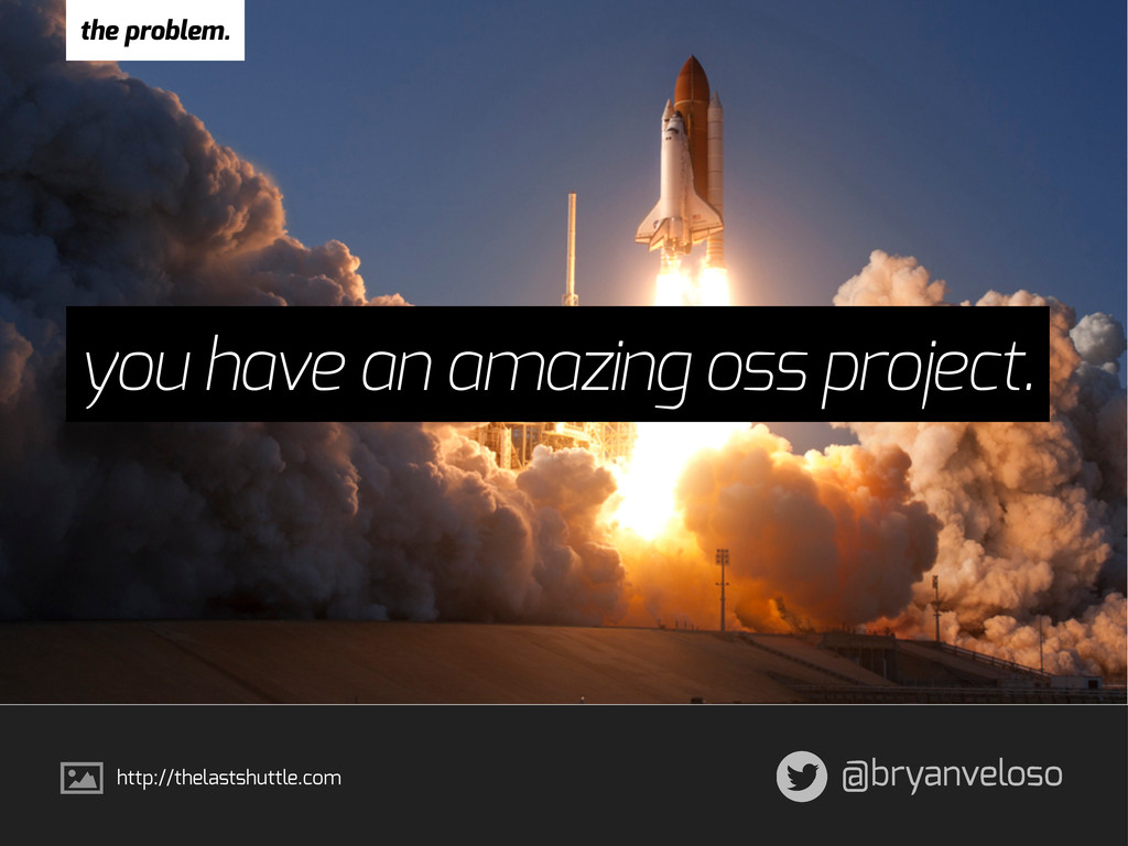 @bryanveloso you have an amazing oss project. t...