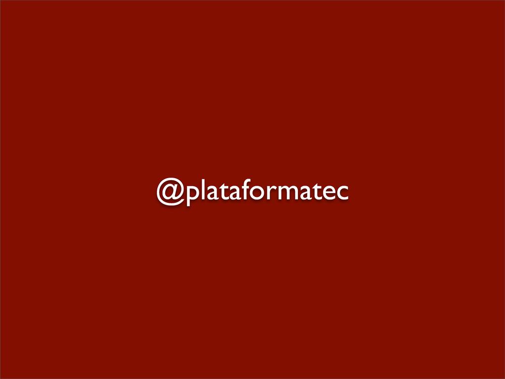@plataformatec
