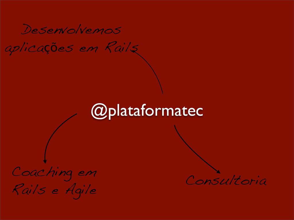 Desenvolvemos aplicações em Rails Consultoria C...