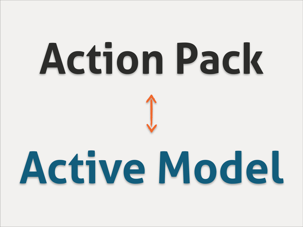Action Pack Active Model