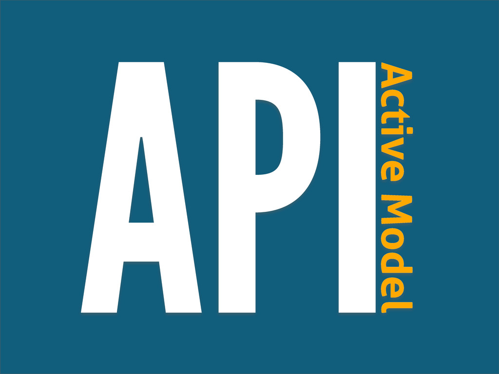 API Active Model
