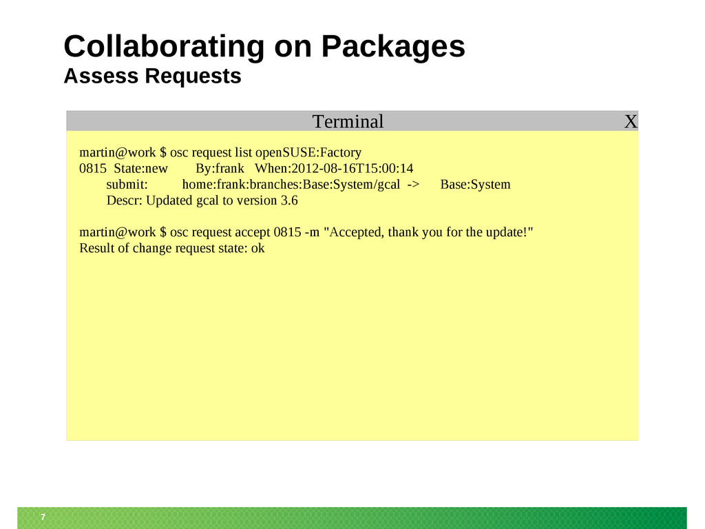 7 Collaborating on Packages Assess Requests Ter...