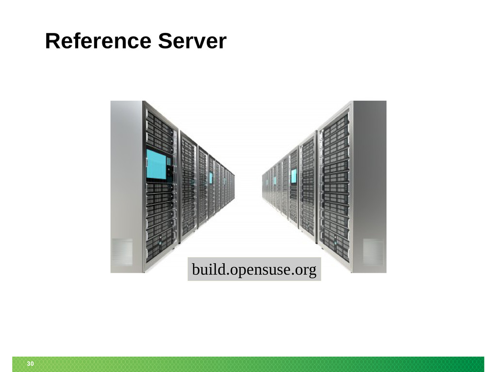 30 Reference Server build.opensuse.org