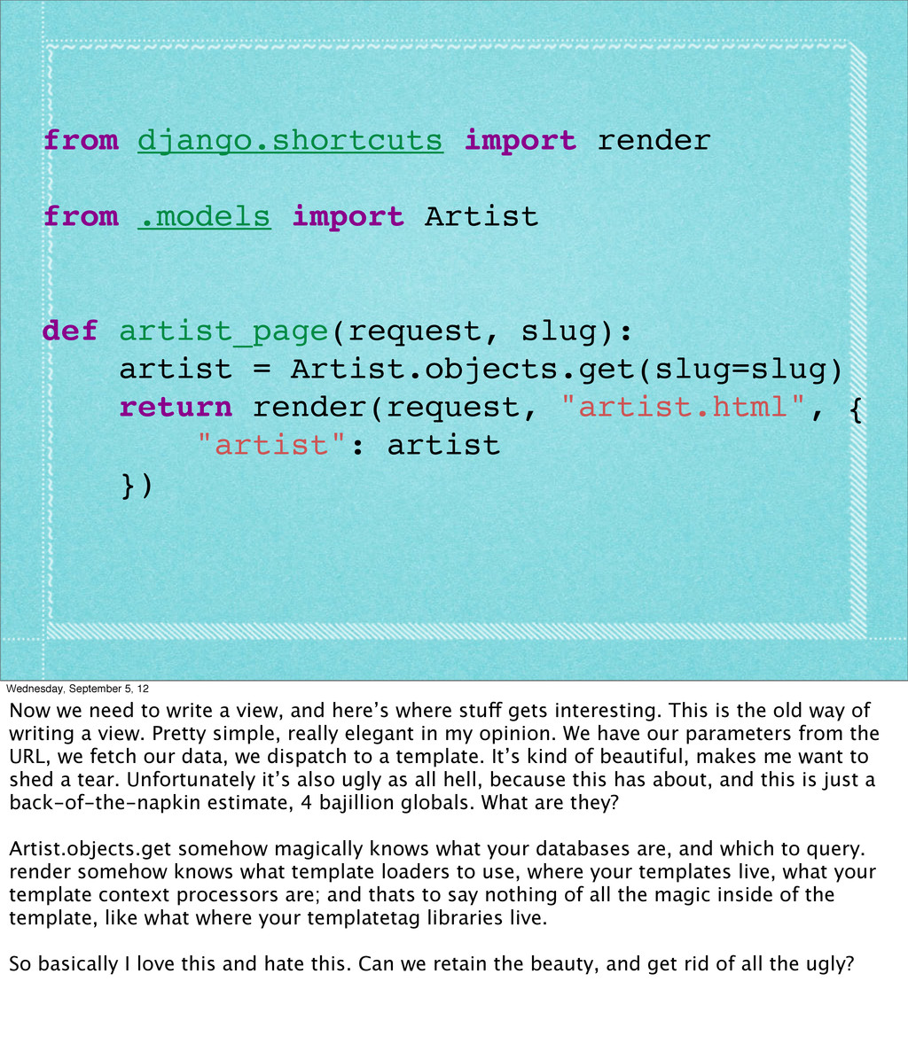 from django.shortcuts import render from .model...