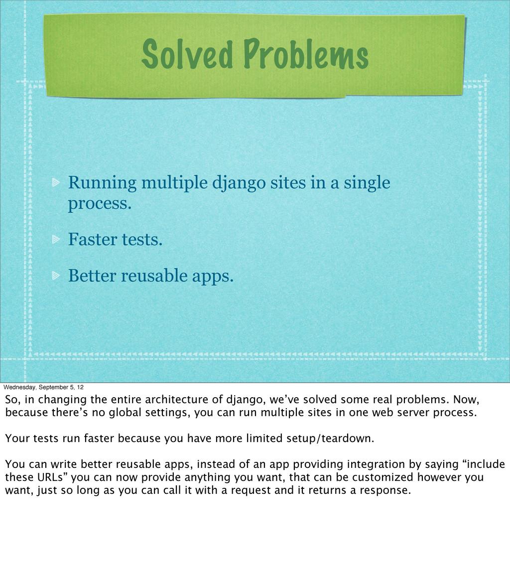 Solved Problems Running multiple django sites i...