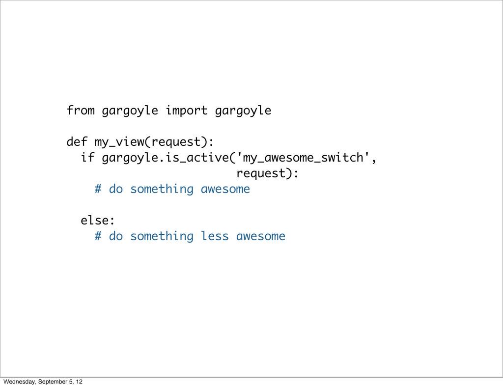 from gargoyle import gargoyle def my_view(reque...