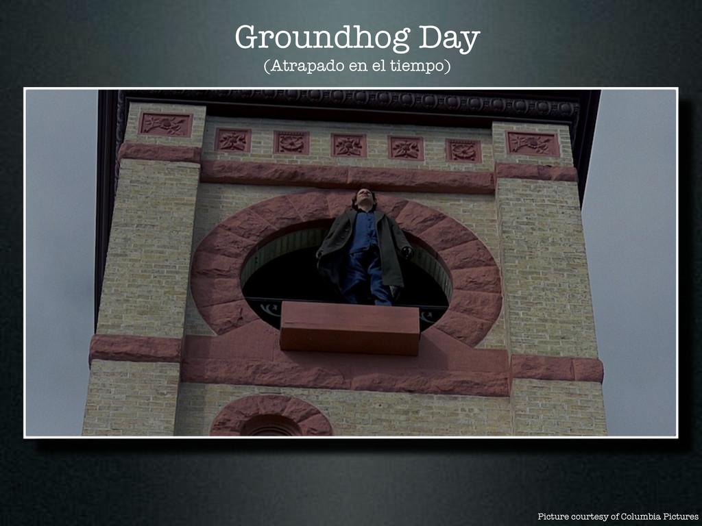 Groundhog Day (Atrapado en el tiempo) Picture c...