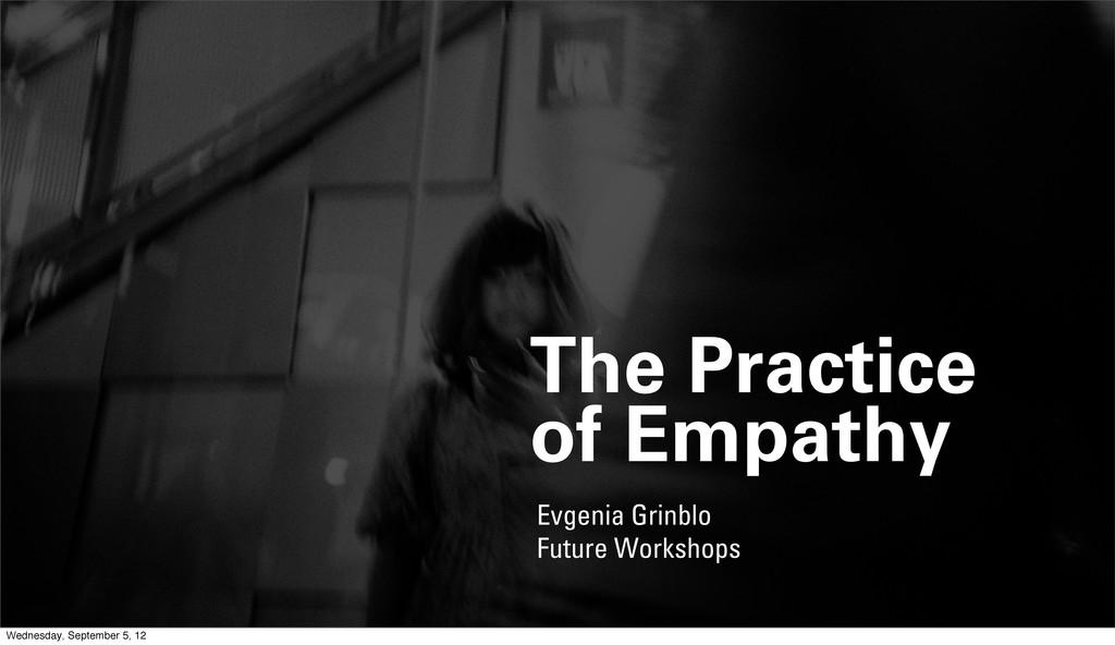 Evgenia Grinblo Future Workshops The Practice o...