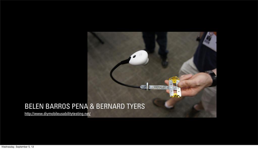 BELÉN BARROS PENA & BERNARD TYERS http://www.di...