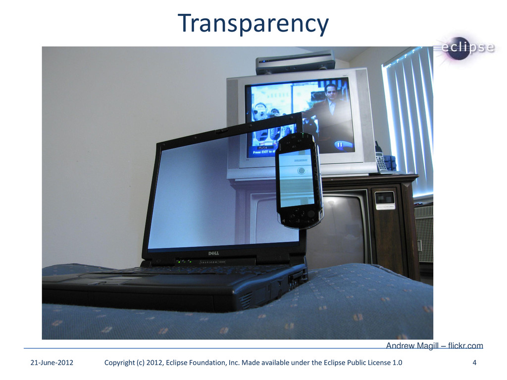 Transparency 21-June-2012 Copyright (c) 2012, E...