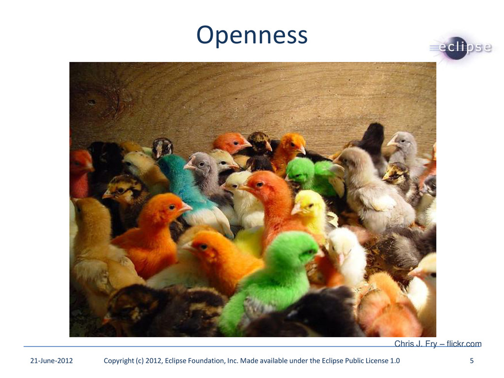 Openness 21-June-2012 Copyright (c) 2012, Eclip...