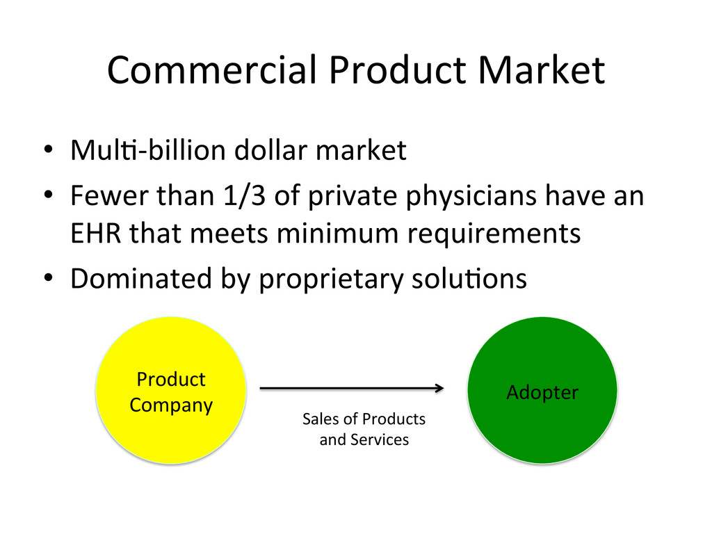 Commercial Product Market  • Mul&-‐b...